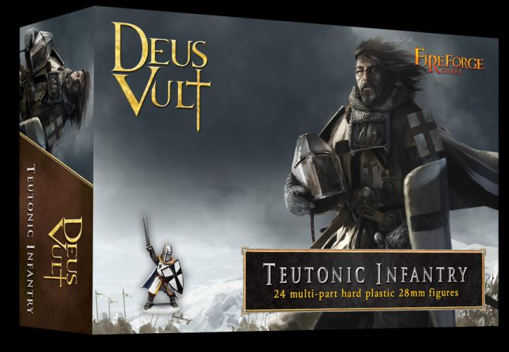 TEUTONIC INFANTRY - FIREFORGE