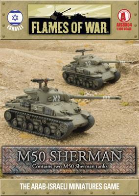 M50 Sherman (2 tanks)