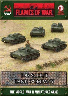 T-38 Scout Tank Company (x5)