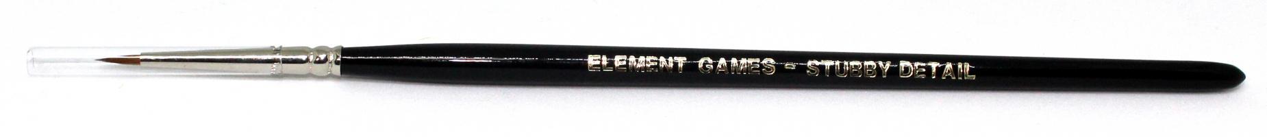 Element Games Kolinsky Stubby Detail Brush