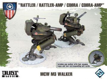 Dust Tactics: Allies MCW M3 Tank