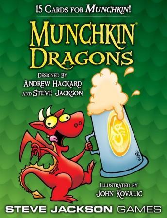 Munchkin Dragons Display