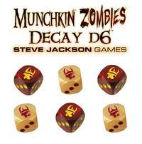 Munchkin Zombie Decay D6