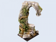 Ruins Bases, Flying 40x40mm #1 (1)