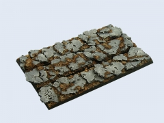 Ruins Bases, Regiment 125x25mm (3)