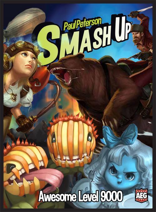 Awesome Level 9000: Smash Up