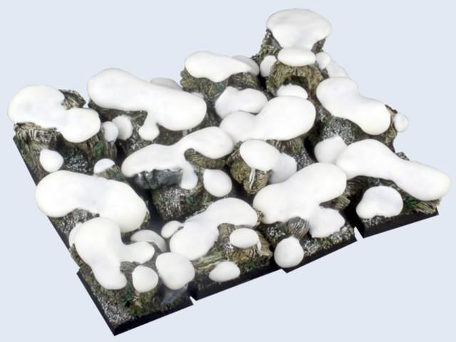 Winter Forest Bases, 25x25mm (5)