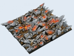 Chaos Bases, Cavalry 25x50mm (4)