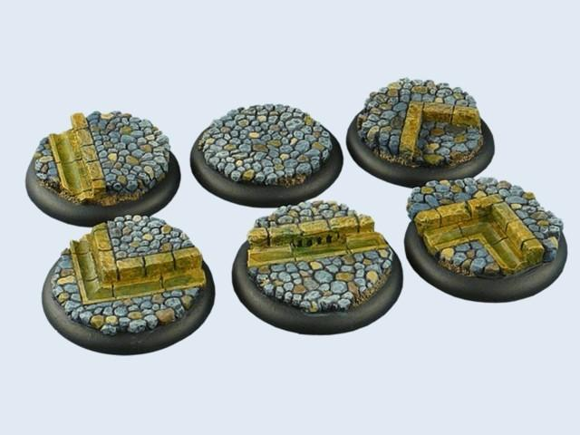 Cobblestone Bases, WRound 40mm (2)