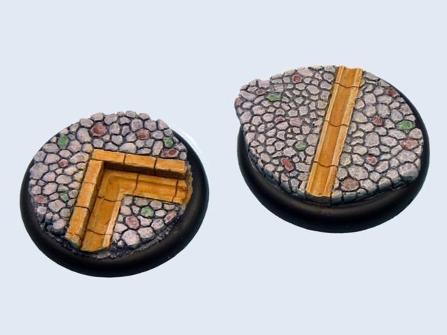 Cobblestone Bases, WRound 50mm (1)
