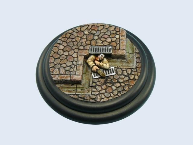 Cobblestone Bases, WRound 80mm #1 (1)