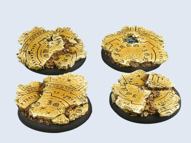 Temple Bases, WRound 50mm (1)