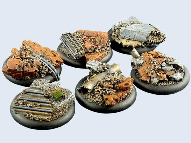 Old Factory Bases, WRound 40mm (2)