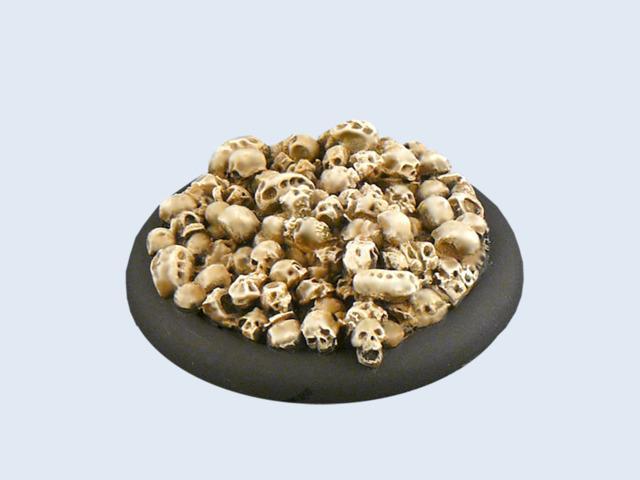 Skulls Bases, WRound 50mm (1)