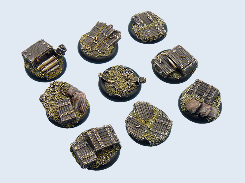 Trench Bases, WRound 30mm (5)