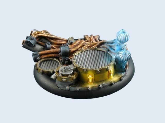 Power Plant Bases, WRound 50mm #2 (1)