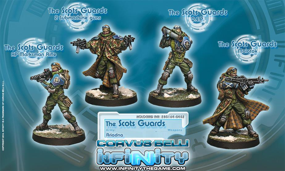 Scots Guards, 6th Caledonian Infantry (box of 4)