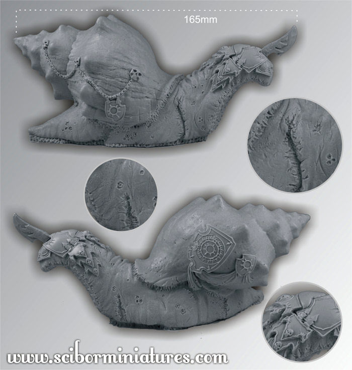 28mm/30mm Chaos Giant Snail