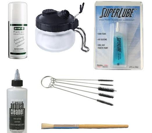 Airbrush Maintenance Bundle