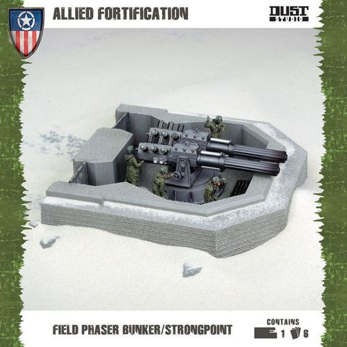 FIELD PHASER BUNKER/STRONGPOINT (Allies)
