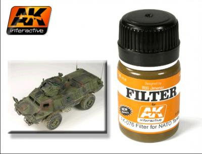 AK Interactive - Nato Tanks Filter