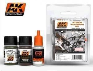 AK Interactive - Interior Weathering Set