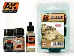 AK Interactive - OIF & OEF - US Weathering Set
