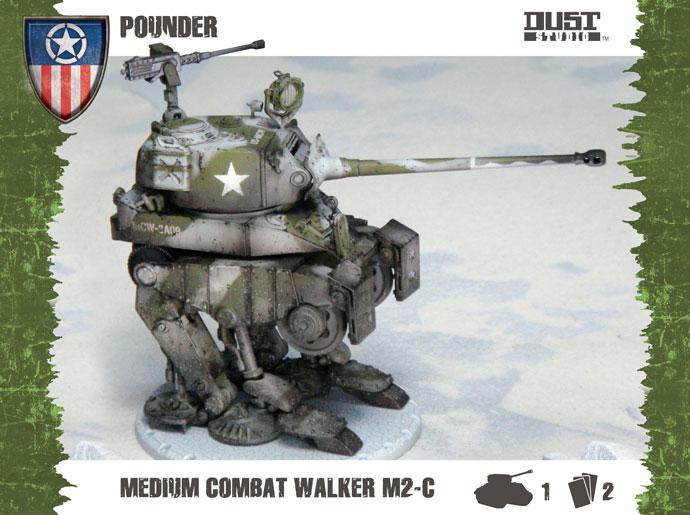 Medium Assault Walker - Pounder (allies)