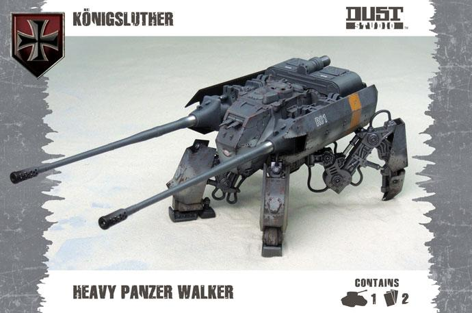 Heavy Panzer Walker - Konigs Luther (axis)