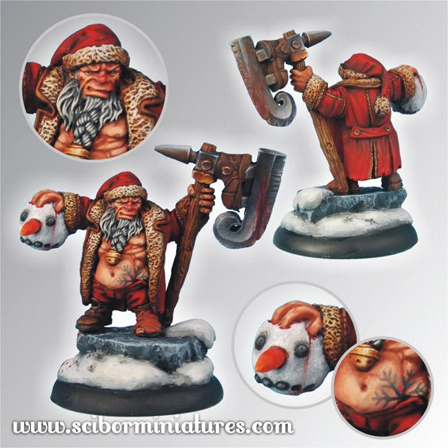 28mm/30mm Christmas Snowman Slayer