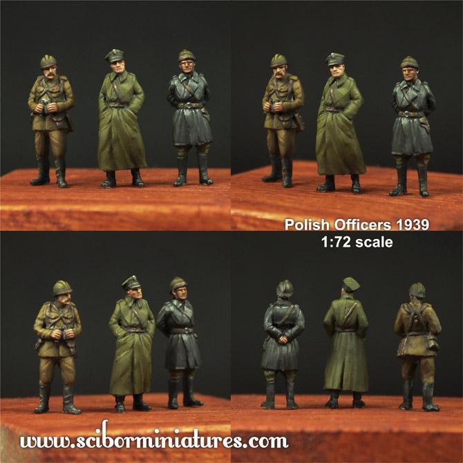 1:72 Polish Officers 1939 Set #1 (3)
