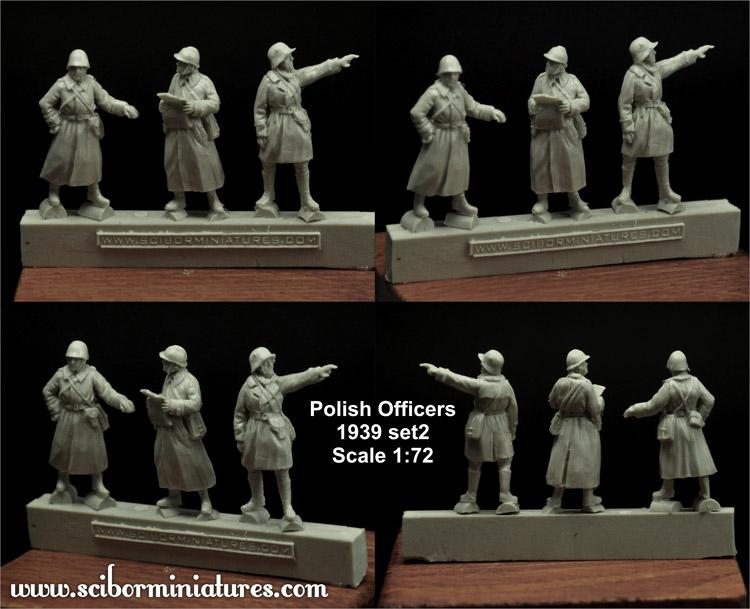 1:72 Polish Officers 1939 Set #2 (3)
