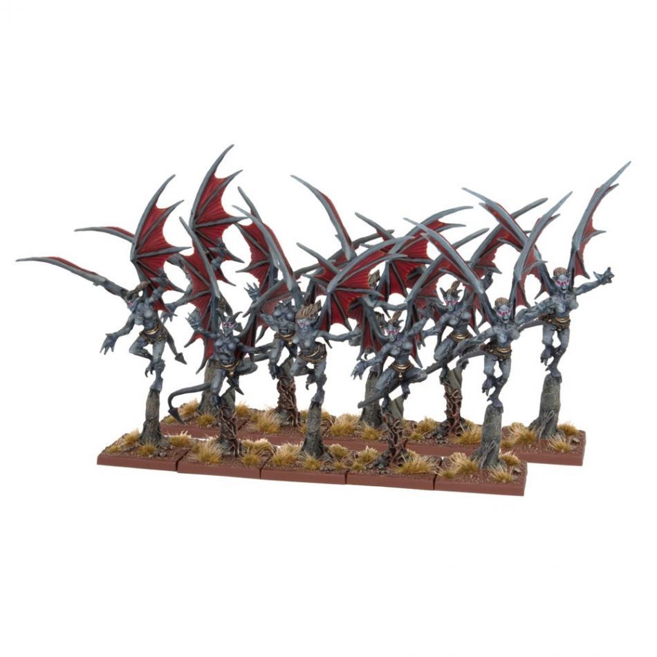 Abyssal Dwarf Gargoyles