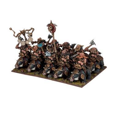 Dwarf Brock Riders Regiment