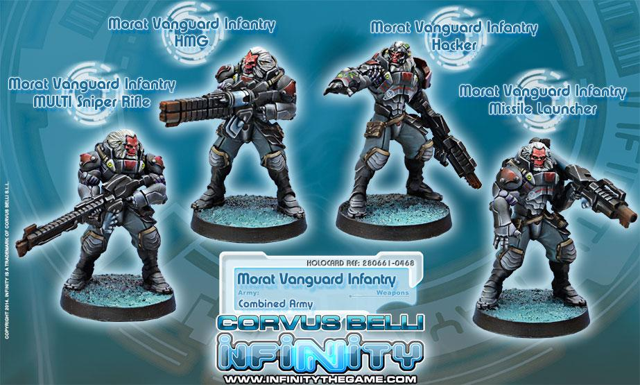 Morat Vanguard Infantry Box Set (4)