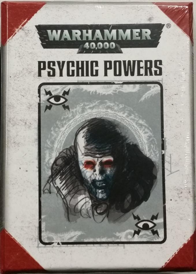 Warhammer 40000 Psychic Powers (English)