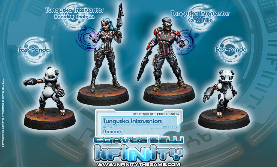 Interventors of Tunguska (Box Set of 4)