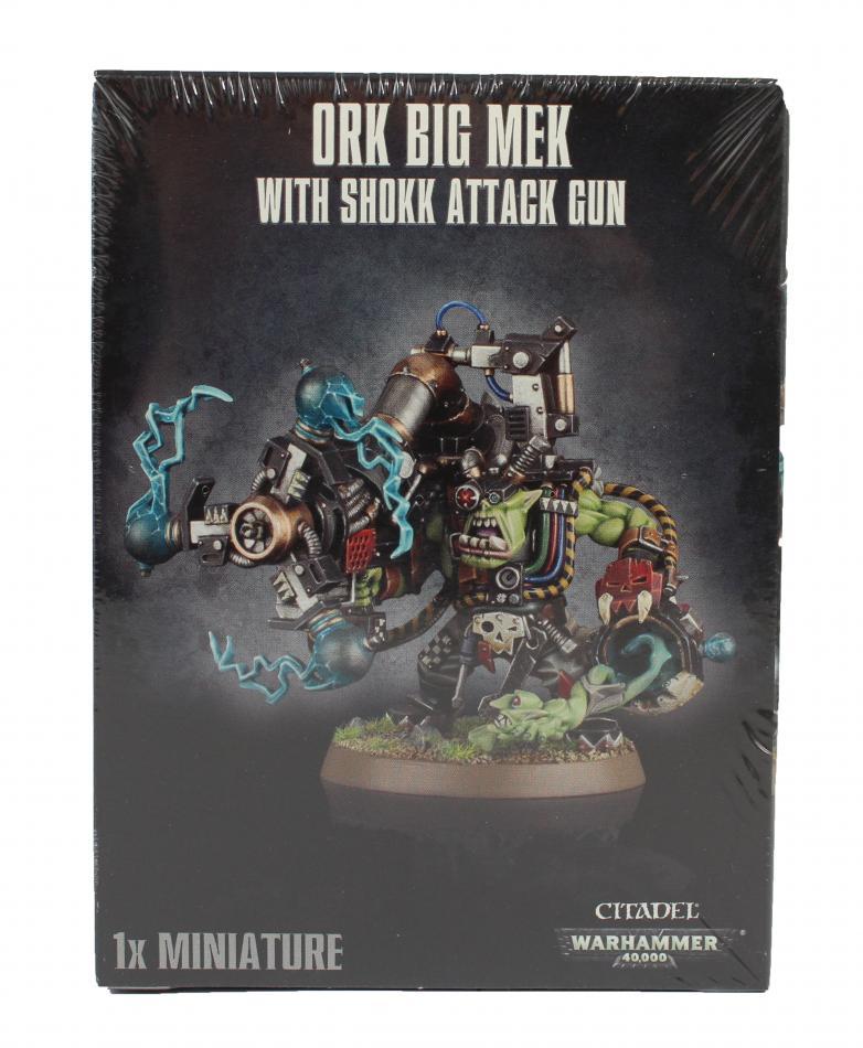 Ork Big Mek With Shokk Attack Gun