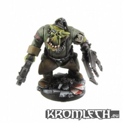 Panzer Orc Boss with Crusher
