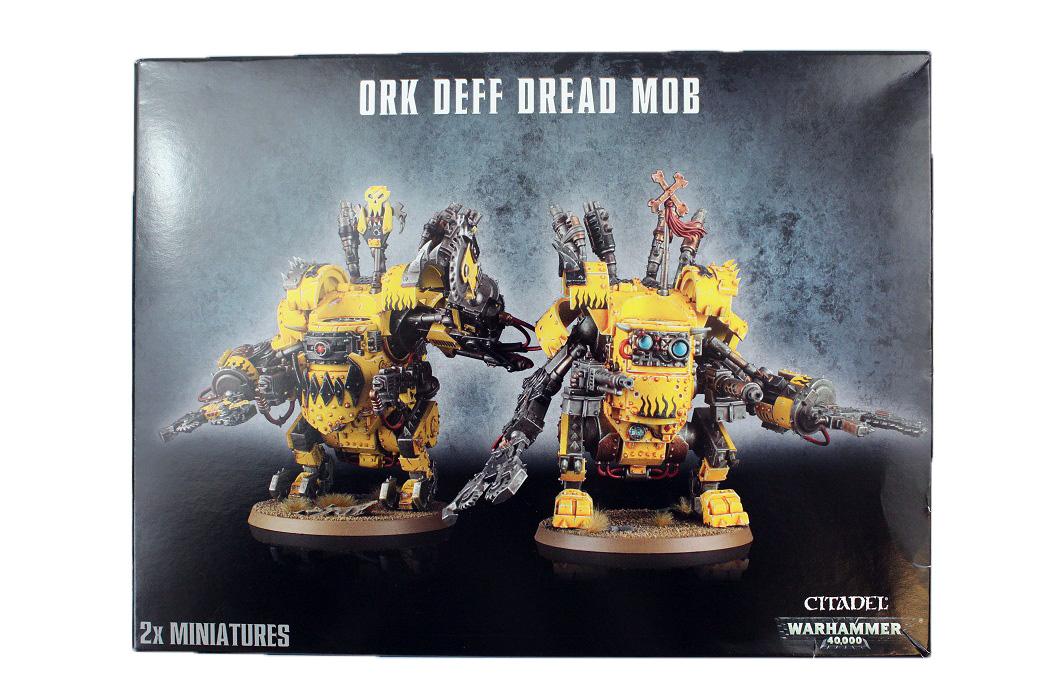 Ork Deff Dread Mob