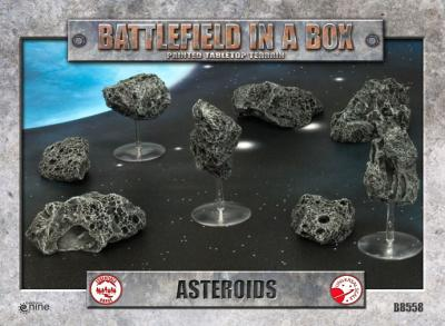 Battlefield in a Box - Asteroids
