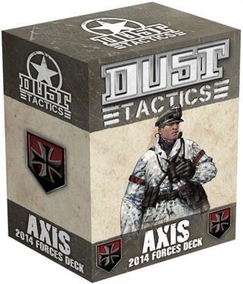 AXIS 2014 Dust Tactics Forces Deck