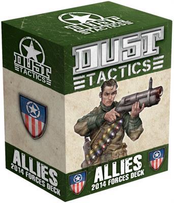 Allies 2014 Dust Tactics Forces Deck