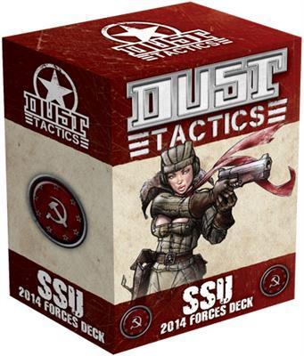 SSU 2014 Dust Tactics Forces Deck