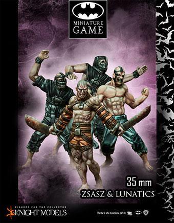 Victor Zsasz & Arkham Lunatics
