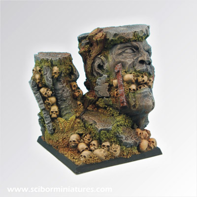Chaos Ground Square Base 50mm