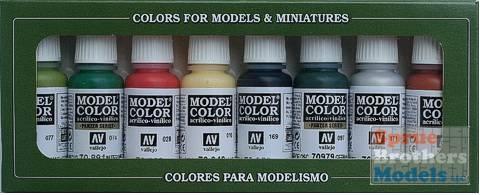 AV Vallejo Model Color Set - Orcs & Goblins (x8)
