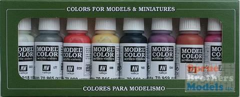 AV Vallejo Model Color Set - Non Dead Chaos