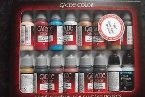 AV Vallejo Game Color Set - Specialist Set (x16)