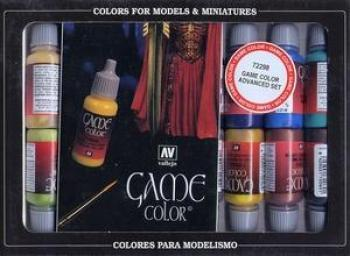 AV Vallejo Game Color Set - Advanced Set (x16)